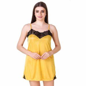 VASTRA Women's Babydoll Lingerie Nightwear